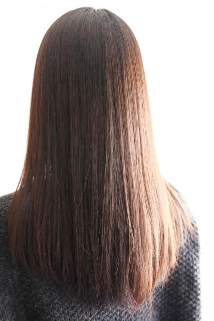 キレイな髪